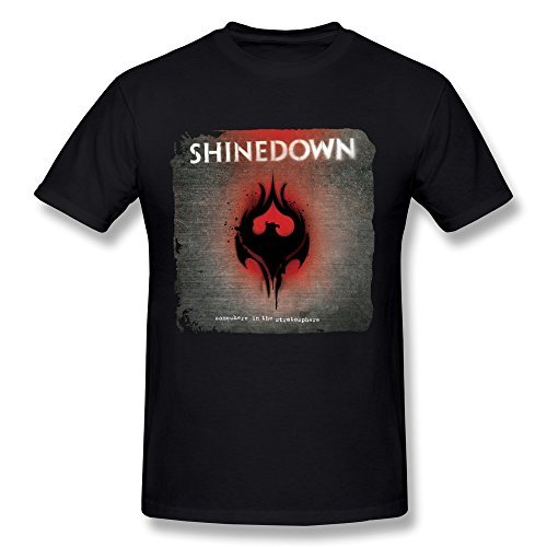Uomo's Shinedown Somewhere In The Stratosphere T-shirt