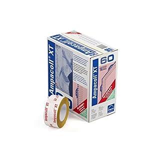 AMPACK Ampacoll XT60 60MM x 25MTR Rolle - Reissfestes Systemklebeband für Innen & Aussen; Swiss Quality