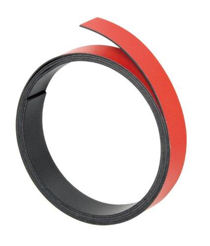 Preisvergleich Produktbild Franken M803 01 Magnetband, 100 cm x 15 mm, Stärke: 1 mm, rot