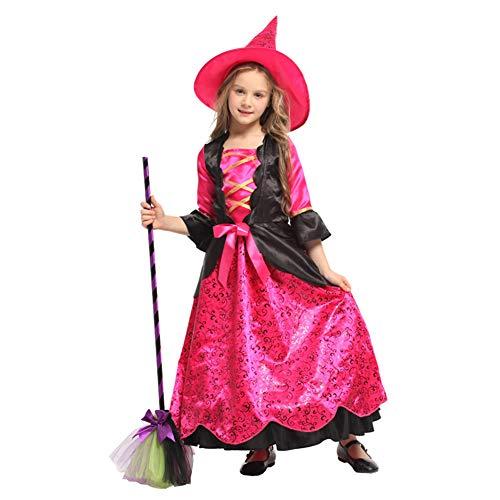 Kostüm Kleinkind Hexe Märchen - Evil Witch Kostüm Kid Witch Classic Halloween Cosplay Kleid