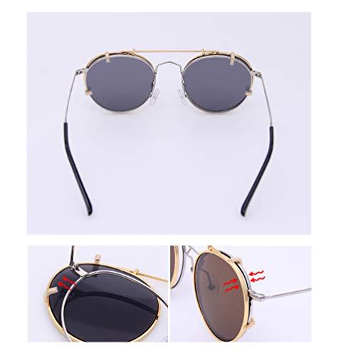 f0fab9f85e Embryform Occhiali da sole Clip-on da donna per occhiali da vista- Occhiali  da sole vintage cat eye polarizzati da guida per donna, 1-Pack Occhiali ...