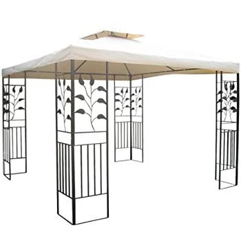 gartenpavillon 3x3m pavillon toscana pavillion. Black Bedroom Furniture Sets. Home Design Ideas