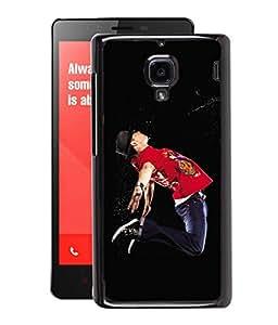 Fuson 2D Printed Dance Designer Back Case Cover for Xiaomi Redmi1S - D617