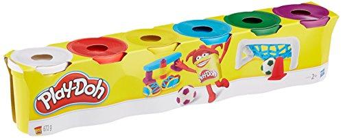 Hasbro Play-Doh C3898EU4 6er Pack Grundfarben, Knete hergestellt von Hasbro