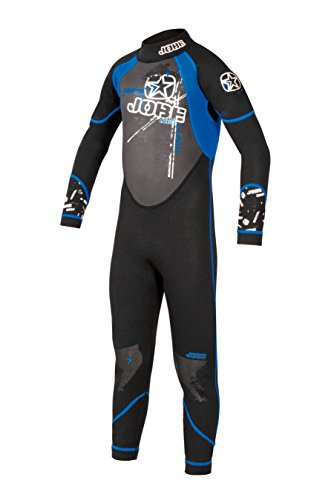 JOBE Full Suit Rebel Blue - 3mm Kinder Neoprenanzug, Tauchanzug, Overall, Größe 134-140 (M) - JOBE