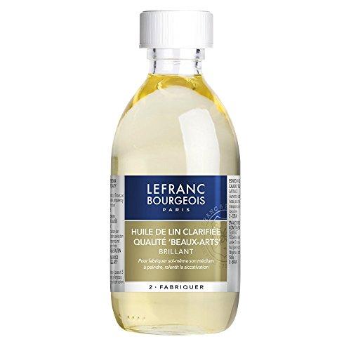 Lefranc & Bourgeois Malmittel, gereinigtes Leinöl in 250 ml Flasche