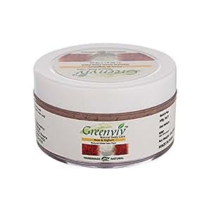 Greenviv Natural Face Mask, Rose & Yoghurt, 50gm
