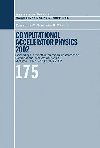 Accelerator 2003Proceedings Conference Computational International On PhysicsMichiganUsa15 Physics 18 Of Seventh The xCBedo
