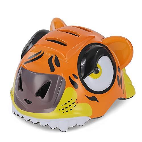 Meteor Casco della tigre della bici del bambino - Adatto a ragazzo e ragazza