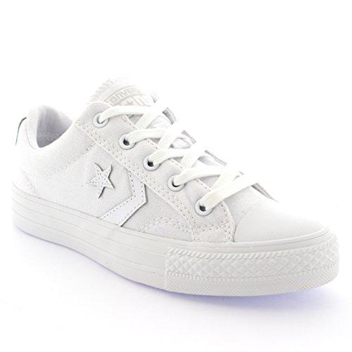 Converse Star Player Core Ox, Baskets mode mixte adulte Blanc/Blanc/Blanc