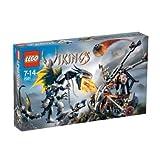 LEGO 7021 Vikings - Dragón acorazado contra catapulta doble
