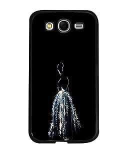 PrintVisa Sparkling Dressed Girl High Gloss Designer Back Case Cover for Samsung Galaxy Grand Neo I9060 :: Samsung Galaxy Grand Lite
