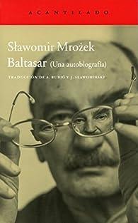 Baltasar par Slawomir Mrozek