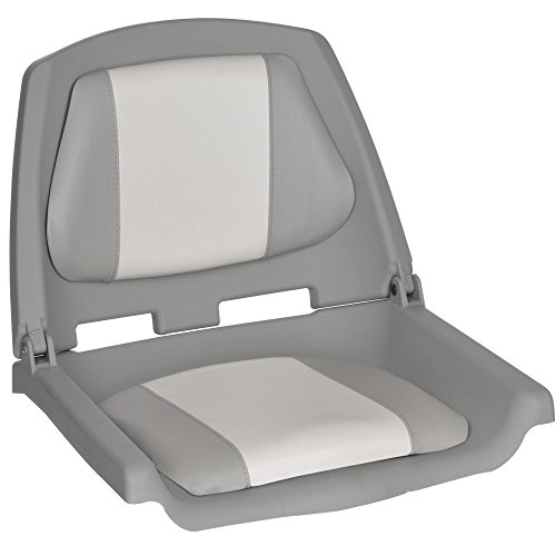 Oceansouth Fisherman Boat Seats (Grey/White) -
