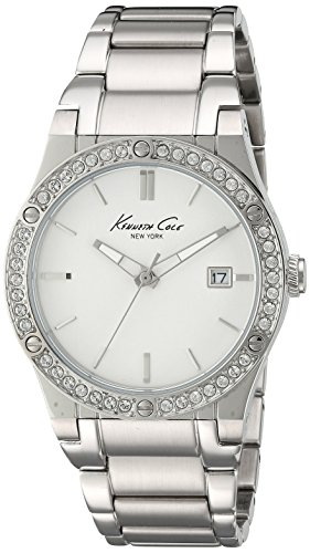 Kenneth Cole New York Women's Analog Japanese-Quartz Watch with Stainless-Steel Strap 10022787