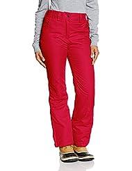CMP Pantalones de esquí para mujer, otoño/invierno, mujer, color rojo, tamaño L