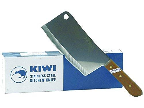 Kiwi Edelstahl Hackmesser 34,5cm Küchenmesser Messer Thailand Hackbeil