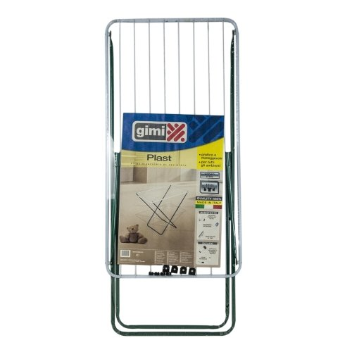 Gimi Plast Floor clothes dryer in steel, 10 m drying length