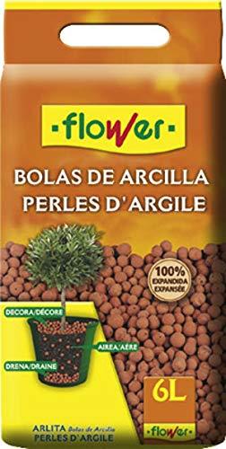 Flower Arlita, Bolas Arcilla, 6 l