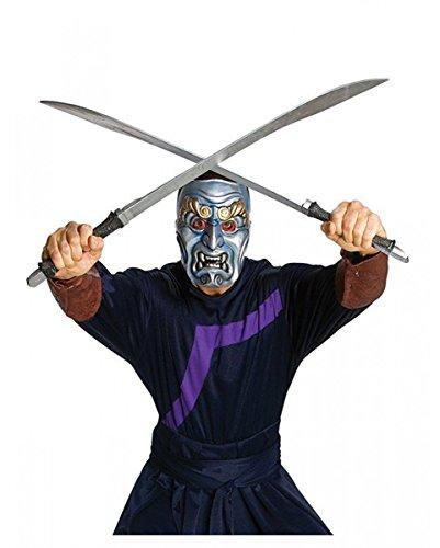 lue Spirit Schwert 82cm für Fantasy Fans (Leicht Zu Ziehen Halloween-maske)