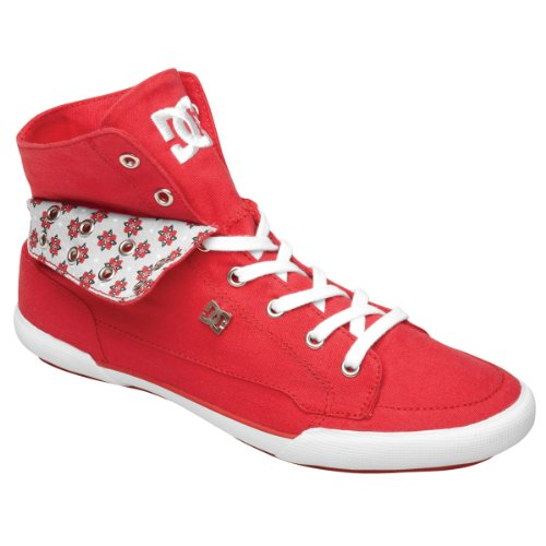 Damen Sneaker DC Asset Hi Women athletic red white