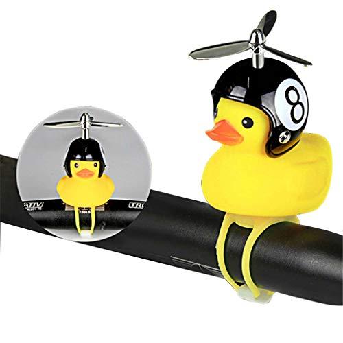 BST Propeller Kleine Gelbe Ente, Fahrradklingel, Motorradhelm (Fahrrad-propeller)