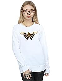DC Comics Women's Justice League Movie Wonder Woman Emblem Sweatshirt