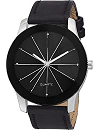 Rage Enterprise Black Stylish Prizam Glass Men Watch For Boys
