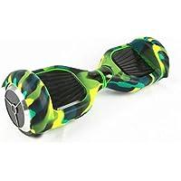 """Cubierta de Protector Completo de Rasguño Para 6.5 """"auto Equilibrio de Scooter Silicona - Camo verde"""