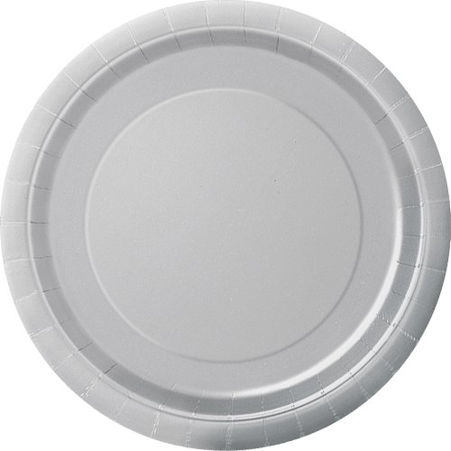 18cm Silver Party Plates Pack of 20  sc 1 st  Amazon UK & Small Dinner Plates: Amazon.co.uk