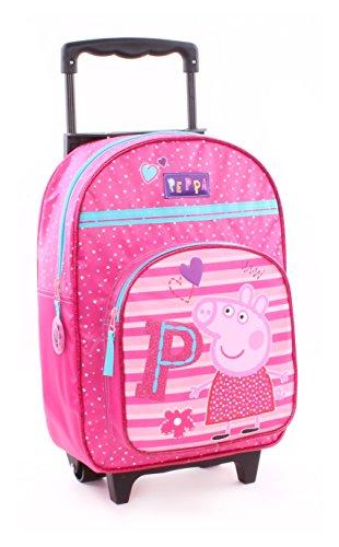 Peppa Pig Wutz Rucksacktrolley Trolley Rucksack Koffer Kinderkoffer 35x28x12cm