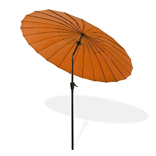 DEMA Sonnenschirm Tokio 2,5m Terracotta