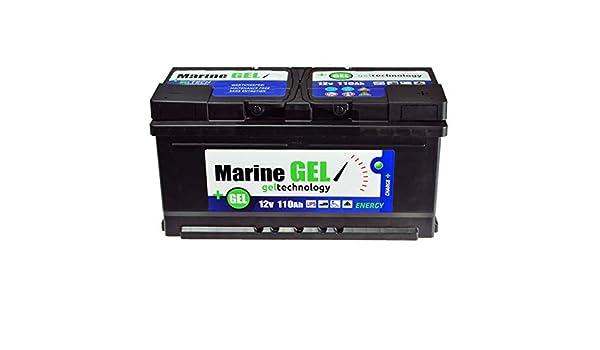 Gel-Batterie 140ah Marine bootbatterie Boot 12 v Sans Entretien Batterie Gelbatter