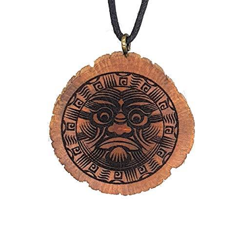 i 8 Holzkette Halskette - Tribal - Hawaii - Neuseeland - Surfer - Surferschmuck - Vaiana - Maui - Aloha - Hula - Herren - Männer - Surferketten ()