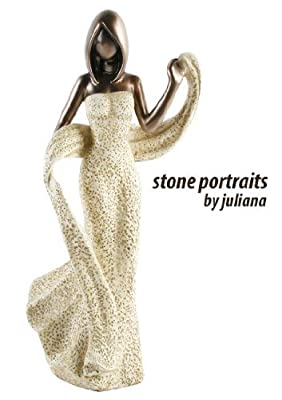 """Lady Dancing """"Dance"""" Figurine from The Stone Portraits by Juliana Collection"""