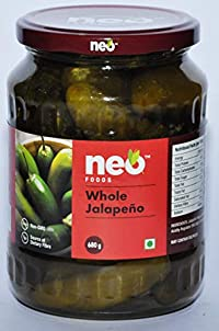 Neo Foods Whole Jalapeno, 680 Grams - Pack of 12