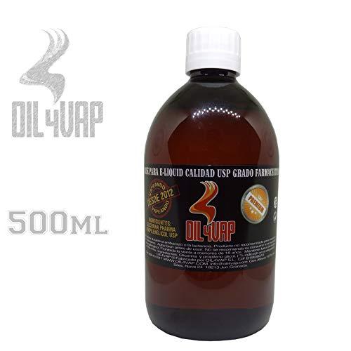 Base liquido de cigarrillo electronico OIL4VAP 500ml SIN ...