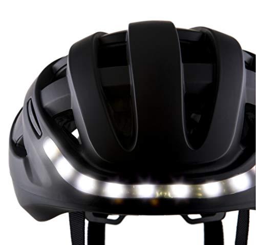 Unisex Adulto LUMOS Kickstart Casco Bluetooth con Luces de Freno Intermitente