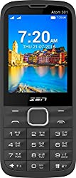 ZEN Atom 301 Dual SIM Feature Phone (Black-Red)