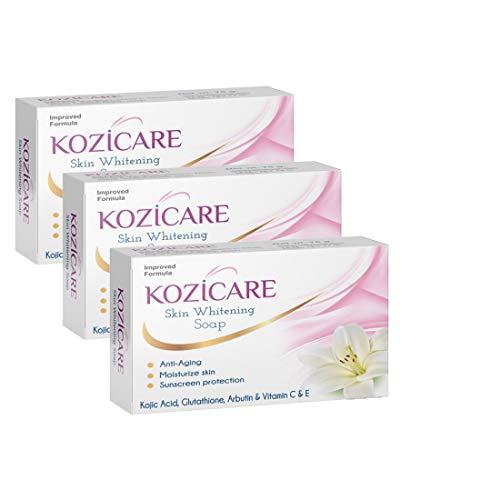 HealthVit Kozicare Skin Whitening Soap -75gm (Pack of 3)
