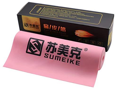 GM&BW Katapult Gummi Flach-Premium-Gummi mit hoher Geschwindigkeit und Langlebigkeit, Dicke von 0,45 mm, Farben, für die Herstellung von Ersatzbändernfür die Jagd oder Wettbewerbe oder zum Fischen