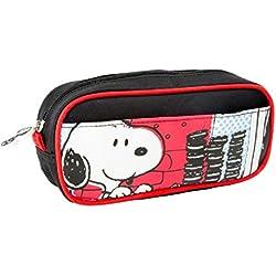 Astuccio/astuccio/astuccio Snoopy Snoopy & co zieren delizioso Astuccio. È il compagno perfetto per la scuola. Ci sono penne, righello e altri articoli di cartoleria. Bene riporre. Con la cerniera della nulla può perduti. Le Peanuts sono con i loro Comic immagini una vera attrazione su ogni scrivania.