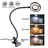 Lampe de lecture à clip LED - Semi-variable Eye-Care - Clip flexible sur lampe de...