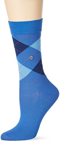 Burlington Damen Socken Covent Garden, Blau (Ocean-Fuego 6553), 36/41