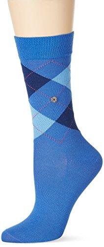 Burlington Damen Socken Covent Garden, Blau (Ocean-Fuego 6553), 36/41