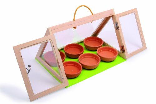 Small Foot Company (smb5v)) - 6742 - Outillage De Jardin pour Enfants - Serre - Pyramide