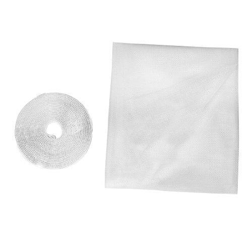 insecto-volador-mosquito-diy-mecha-malla-pantalla-blanca