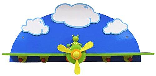 Beluga Garderobe Kinder-Garderobe Frosch im Flugzeug