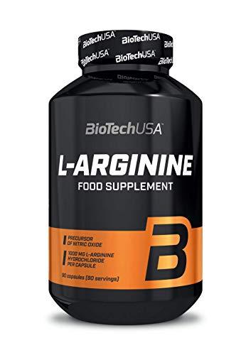 BiotechUSA L-Arginina 90 cápsulas