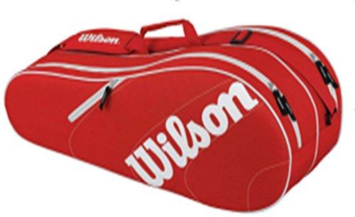 Wilson Advantage Team 6 Pack Red